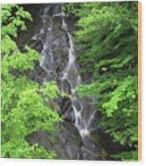 Margaurite Falls Berkshires Wood Print