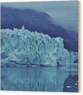 Margerie Glacier Beauty Wood Print