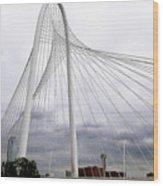 Marget Hunt Bridge Wood Print