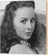 Margie, Jeanne Crain, 1946 Wood Print by Everett