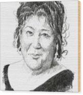 Margo Martindale Wood Print