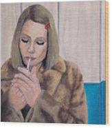 Margot Wood Print