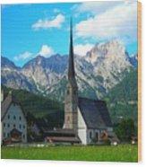 Maria Alm Am Steinernen Meer Wood Print