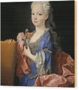 Maria Anna Victoria Of Bourbon. The Future Queen Of Portugal Wood Print