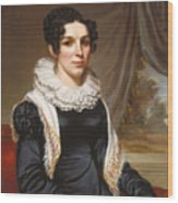 Maria Clarissa Leavitt Wood Print