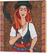Maria Da Fonte - The Revolt Of Women Wood Print