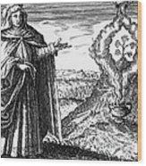 Maria The Jewess, First True Alchemist Wood Print
