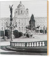 Maria Theresien Platz Wood Print
