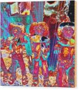 Mariachi Abstract Wood Print