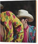 Mariachi Dancer 2 Wood Print