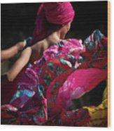 Mariachi Dancer 4 Wood Print