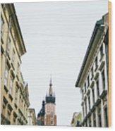 Mariacki From Florianska Wood Print