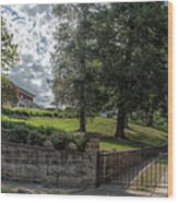 Marian Cliff Manor Wood Print