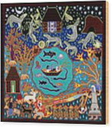 Mariano's Ocean Wood Print