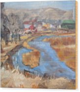 Marias Ranch Wood Print
