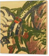 Marie - Tile Wood Print