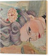 Marie Antoinette  Wood Print