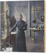 Marie Curie (1867-1934) Wood Print