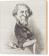 Marie Denis Larabit Wood Print