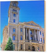 Marietta Courthouse Wood Print
