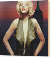Marilyn Forever Wood Print