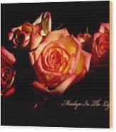 Marilyn Light Wood Print