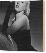 Marilyn Monroe Wood Print by American School