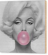 Marilyn Monroe Art Wood Print