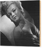 Marilyn Monroe, Ca. Early 1950s Wood Print by Everett