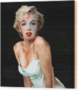 Marilyn Monroe Faded Wood Print