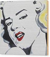 Marilyn Monroe Wood Print by Joseph Palotas