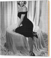 Marilyn Monroe Publicity Shot The Asphalt Jungle Wood Print