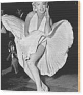 Marilyn Monroe - Seven Year Itch Wood Print