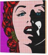 Marilyn02-2 Wood Print