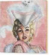 Marilyne Wood Print