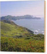 Marin Headlands 2 Wood Print