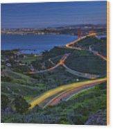 Marin Headlands Wood Print