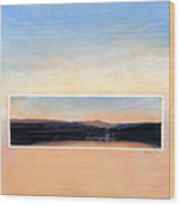 Marin Sunset Wood Print