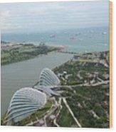 Marina Bay Wood Print