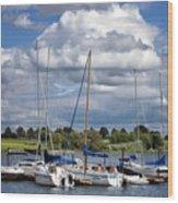 Marina - Branched Oak Lake Wood Print