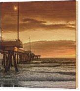 Marina Del Rey Wood Print