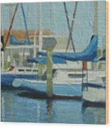 Marina No 4 Wood Print