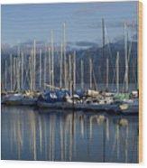 Marina Tranquility Wood Print