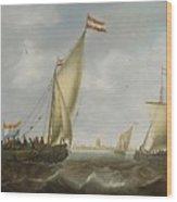 Marine Wood Print