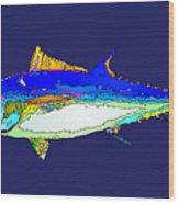 Marine Life Wood Print