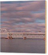 Marine Parkway Bridge Wood Print
