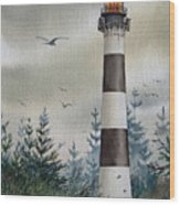 Mariners Guiding Light Wood Print