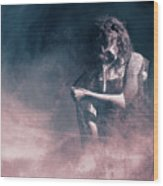 Marinette - Mysterious Woman In Venetian Mask Wood Print