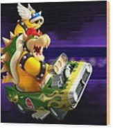 Mario Kart Wii Wood Print