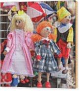 Marionettes 1940 Wood Print